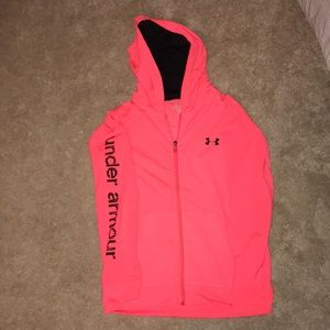 Woman's under armour zip up NEVER WORN